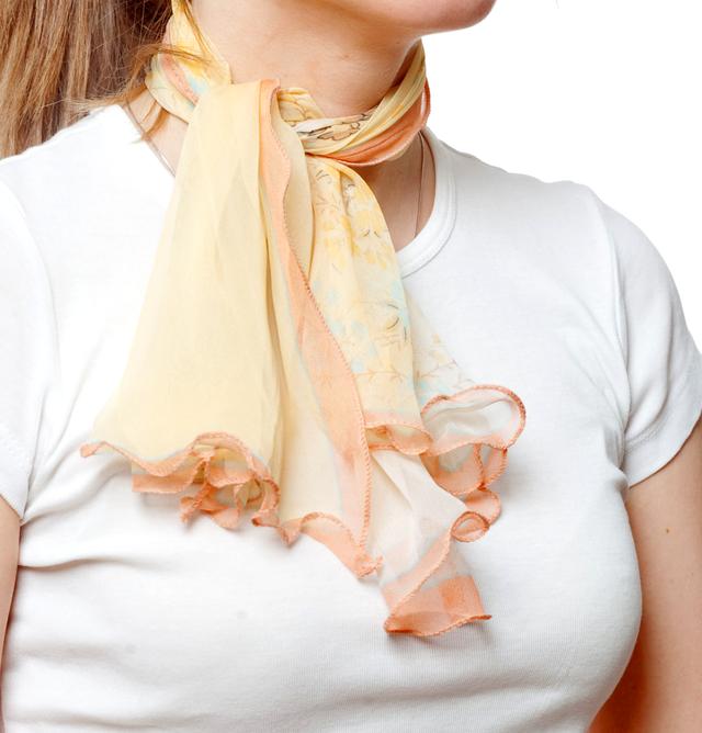 Нежный шейный платок 60*60  (61055) 2