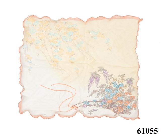 Нежный шейный платок 60*60  (61055) 3