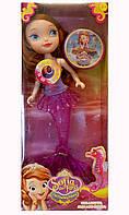 Кукла Sofia-русалка музыкальная, в коробке