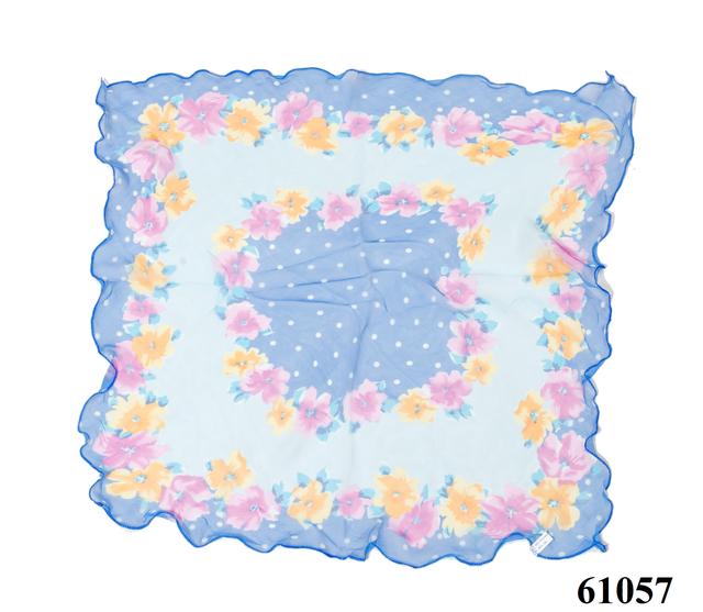 Нежный шейный платок 60*60  (61057) 3