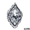 Нежный шейный платок 60*60  (61058)