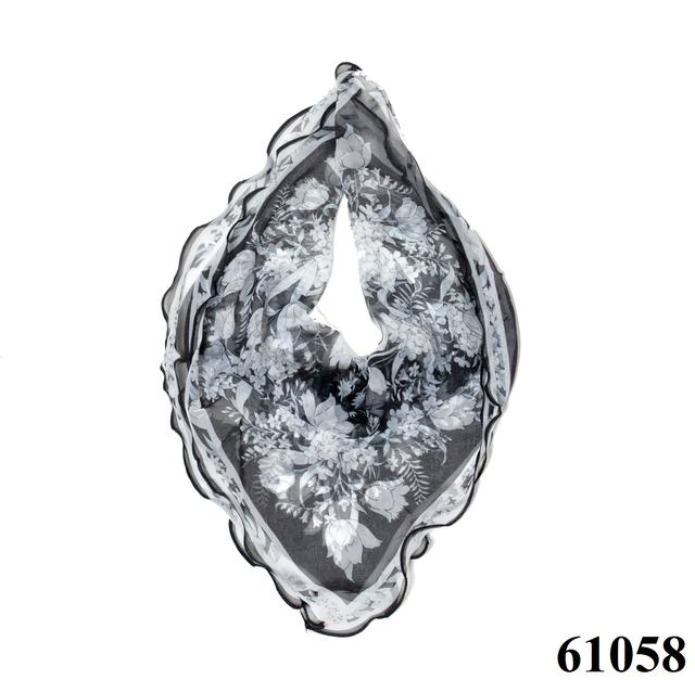 Нежный шейный платок 60*60  (61058) 1
