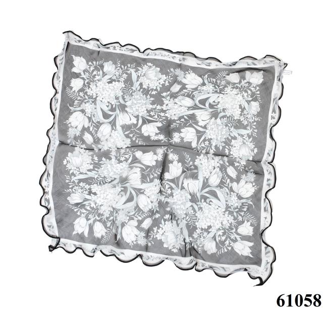 Нежный шейный платок 60*60  (61058) 3
