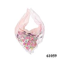Нежный шейный платок 60*60  (61059), фото 1
