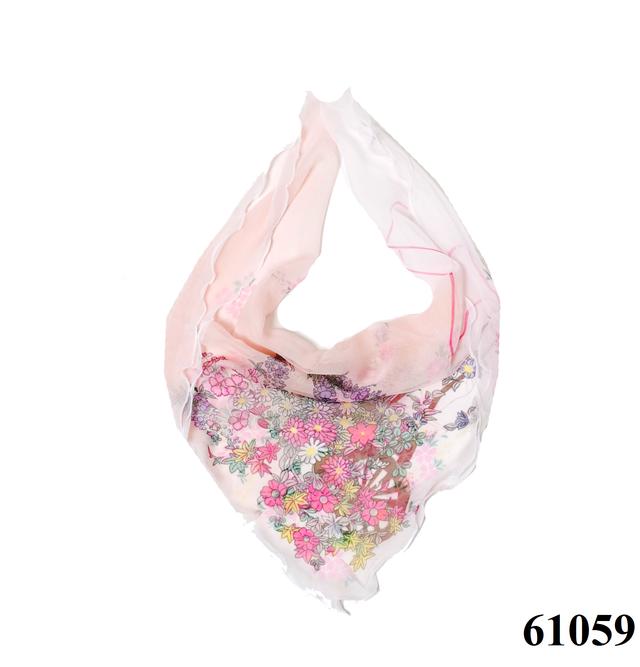 Нежный шейный платок 60*60  (61059) 1