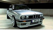 Накладка на бампер BMW 3 E30 1982-1994 (БМВ е30), 1LS 201 602-131