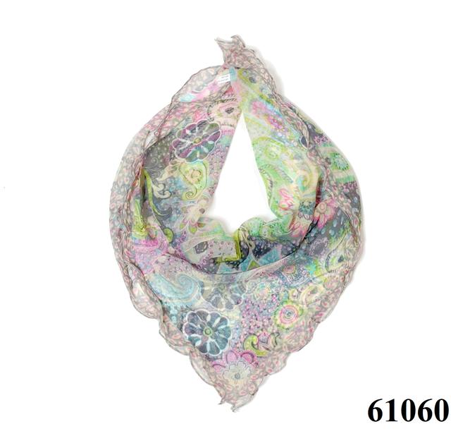 Нежный шейный платок 60*60  (61060) 1