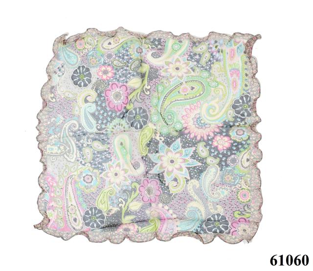 Нежный шейный платок 60*60  (61060) 3