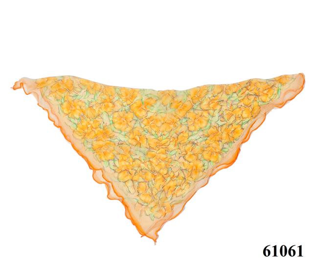 Нежный шейный платок 60*60  (61061) 4