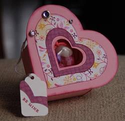 Мастер-класс по созданию коробочки с маленьким подарком в форме сердечка