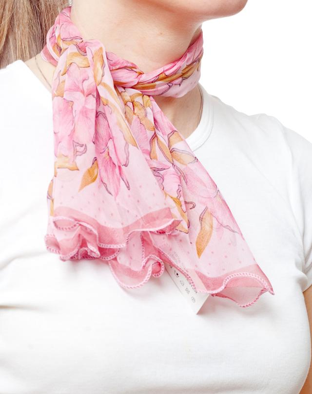 Нежный шейный платок 60*60  (61062) 2