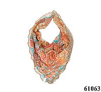 Нежный шейный платок 60*60  (61063), фото 1