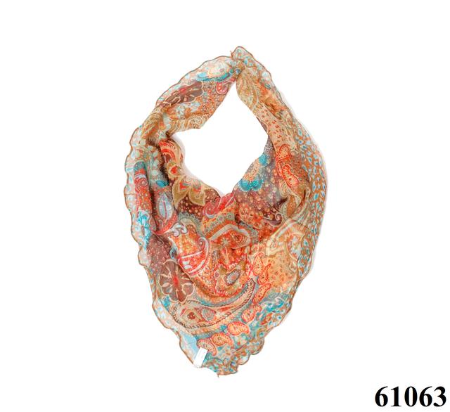 Нежный шейный платок 60*60  (61063) 1