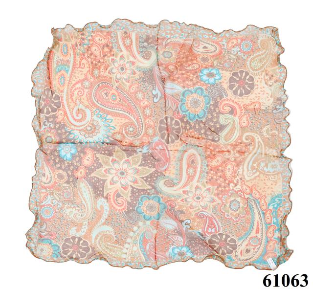 Нежный шейный платок 60*60  (61063) 3