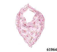 Нежный шейный платок 60*60  (61064)