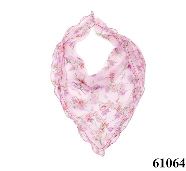 Нежный шейный платок 60*60  (61064) 1
