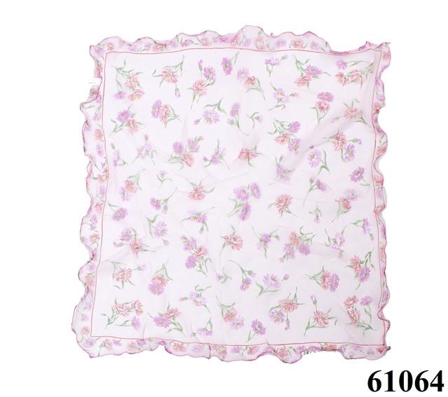 Нежный шейный платок 60*60  (61064) 3