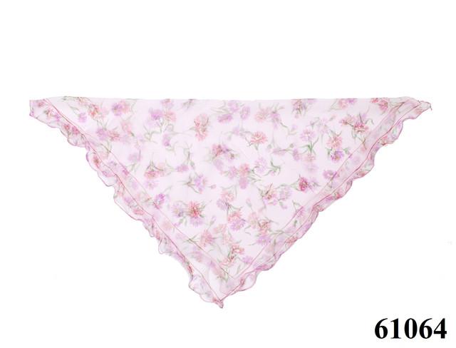 Нежный шейный платок 60*60  (61064) 4