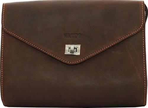 Необычная женская сумка из натуральной кожи VATTO Wk4 Kr450, темно-коричневый