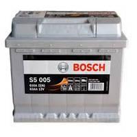 Автомобильный аккумулятор Bosch 6CT-63 S5 Silver Plus (S5005)