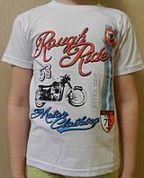 Футболка для мальчика с мотоциклом, Rough Rider