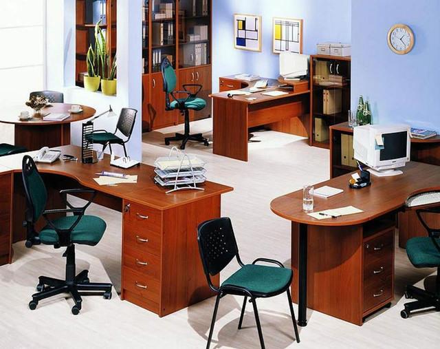 Корпусная мебель Магистр яблоня локарно в ассортименте (Интерьер)