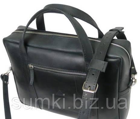 кожаный мужской портфель Украина