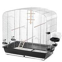 Клетка для попугаев Inter Zoo Sara цинк + аксессуары  (780*475*790)