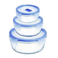 Набор контейнеров Luminarc Pure Box Active 3пр. (H7684)