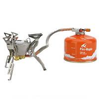 Газовая горелка Fire Maple со шлангом FMS-100