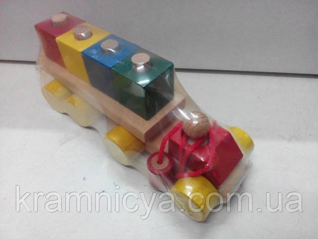 Деревянный автомобиль-конструктор. Купить в интерент-магазине Крамниця Творчості