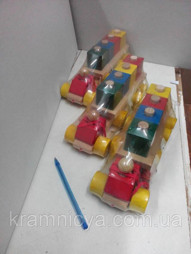 Развивающие деревянные игрушки каталки от 12мес . Купить в интерент-магазине Крамниця Творчості