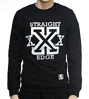 "Свитшот ""Ястребь"" «Straight Edge» черный (без начеса), фото 1"