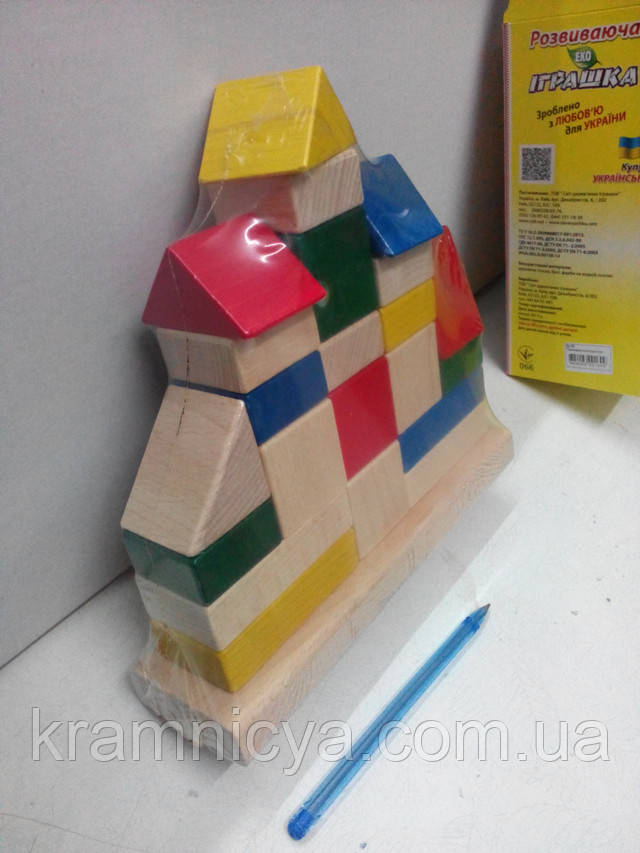 Развивающие деревянные игрушки Логика. от 12мес . Купить в интерент-магазине Крамниця Творчості