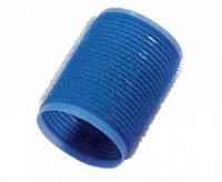 Бигуди-липучки d15 мм (12шт) темно-синие