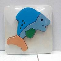 Вкладыш деревянный Дельфин (от 18 мес.)