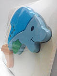 Вкладыш деревянный Дельфин (от 18 мес.), фото 3