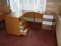 Стол учителя угловой 1400 на 1800