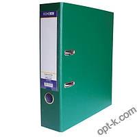 Папка-регистратор Economix 8см, покрытие PVC, зеленая