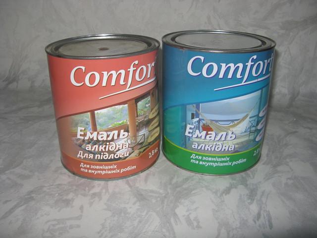 Эмали и грунтовка Comfort