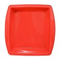 Krauff Силиконовая форма для выпечки квадратная 26х24,5х5,5 см.