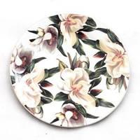 Тарелка десертная Белая Магнолия 19 см OSELYA UKRAINE