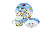 Набор детской посуды Слоненок Оселя