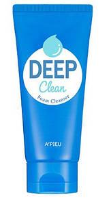 Эффективная пенка для глубокого очищения пор A'PIEU Deep Clean Foam Cleanser