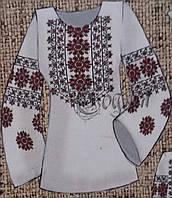 Блуза-заготовка для вышивания из натуральных тканей, 44-56 р-ры, 380/355 (цена за 1 шт. + 25 гр.)