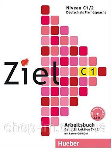 Ziel C1/2 Kursbuch + Arbeitsbuch + Lerner-CD/CD-ROM (учебник+тетрадь+диск лекции 7-12), фото 2