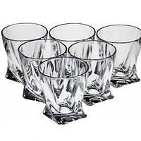 Набор стаканов/виски 340мл-6шт Bohemia Quadro