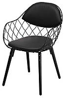 Кресло Вики (КЗ черный) (Domini ТМ)