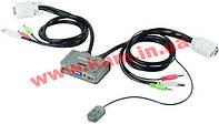 NET SWITCH KVM USB 2PORT W/ CAB EK-2U2CA EDIMAX (EK-2U2CA)
