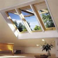 Панорамное деревянное окно GPL Velux